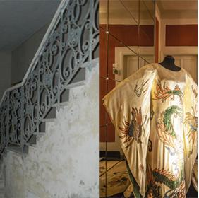 The ancient staircase: before and after